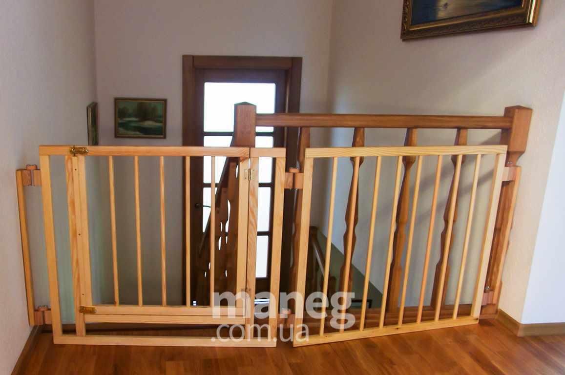 Калитка на лестницу от ребенка своими руками