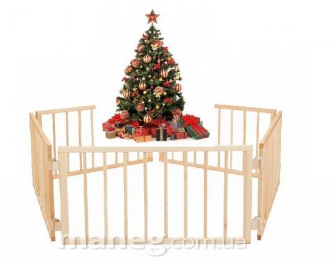 Ограждение елки от детей 60