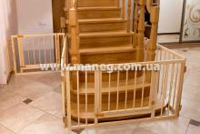 безопасность лестницы, ворота на лестницы, ограждение на лестницу от детей, ворота безопасности на лестницу